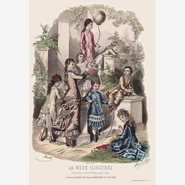 Старинная Детская летняя мода викторианской эпохи. Обсуждение на LiveInternet - Российский Сервис Онлайн-Дневников