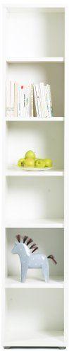 Tvilum Fairfax Tall Narrow Bookcase, White Tvilum,http://www.amazon.com/dp/B006P7ZCN2/ref=cm_sw_r_pi_dp_zB34sb11TN0Q99BX