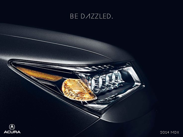 Jewel Eye LED headlights come standard on the 2014 MDX.   Discover more features at http://www.acura.com/mdx