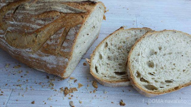 DOMA navařeno: KVÁSKOVÝ pšenično-žitný chléb