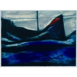 Morning Afloat by Hughie O'Donoghue RA