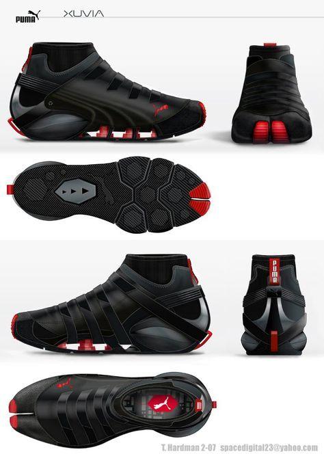 Puma Parkour concept shoe | Shoes design | Pinterest