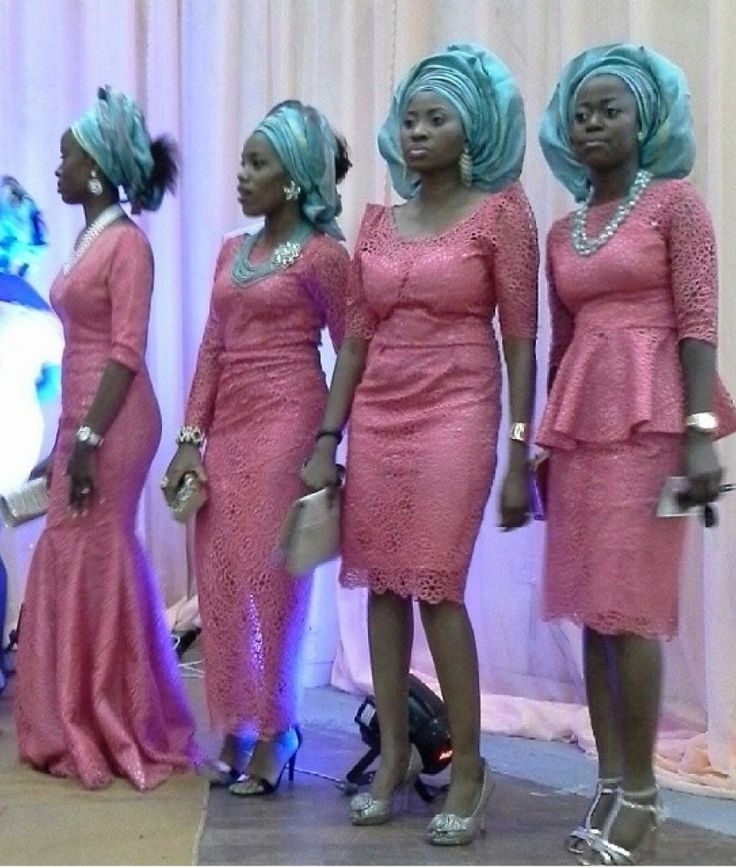 Fabulously Eclectic and Top-Notch WDN's Aso Ebi Styles