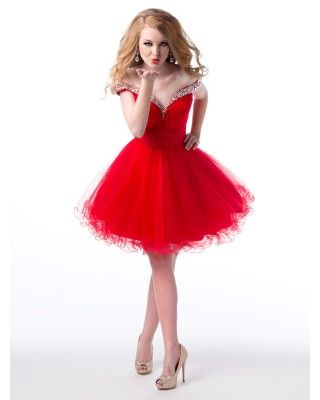 Red dress homecoming realty