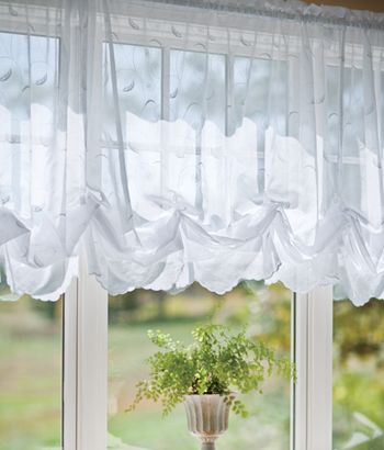 Country Curtains Balloon Curtains $49 A Wonderful Soft Look. Pair With  Drapes.