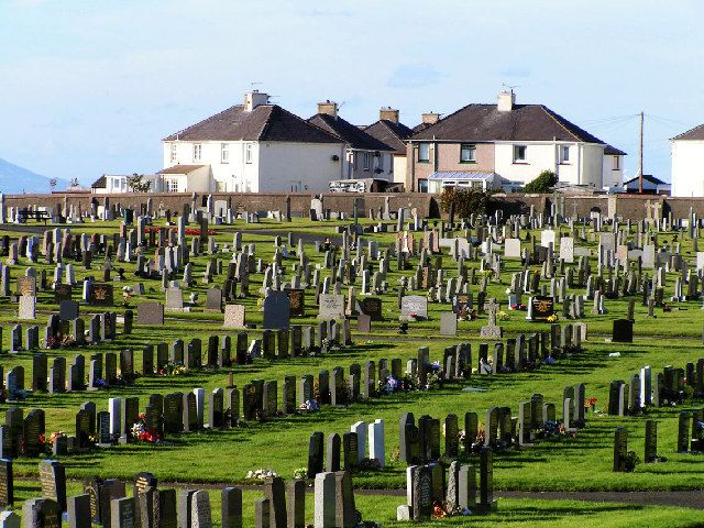 Salterbeck Cemetary - Workington, England (where my great grandparents are buried)