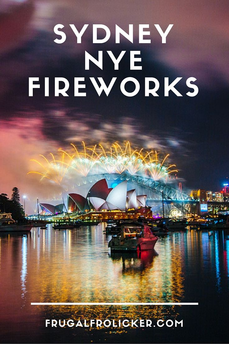 Best View of the Sydney NYE Fireworks. Unfortunately, from 2016 onwards, almost none of the 'public' places to have a decent view are free to the public.