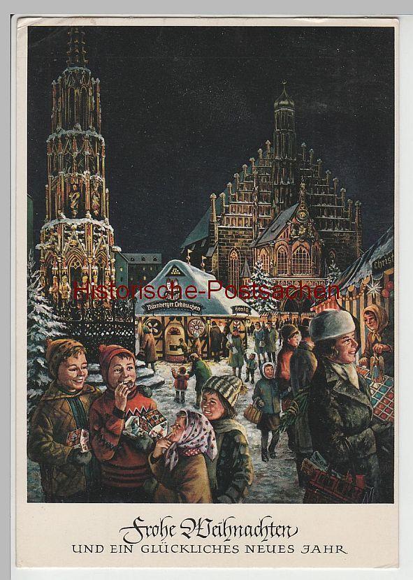 AK Frohe Weihnachten, Nürnberger Christkindlesmarkt, 1969   eBay