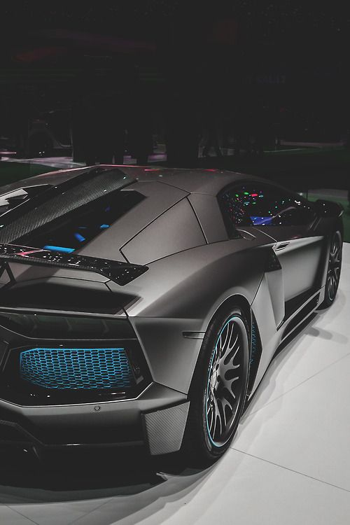 Lamborghini Aventador Limited By Hamann   The Front Boasts Custom Made  Carbon Air Vent Inserts