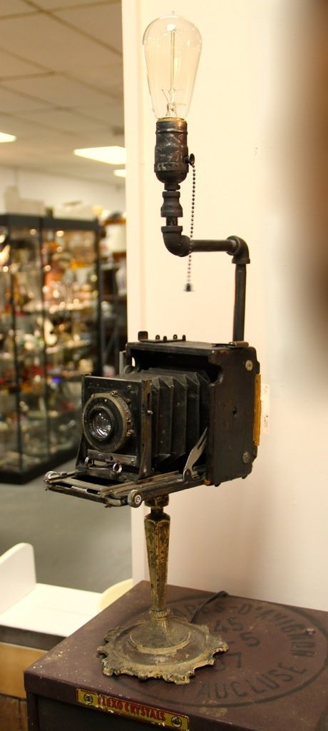 One of a Kind Camera Lamp