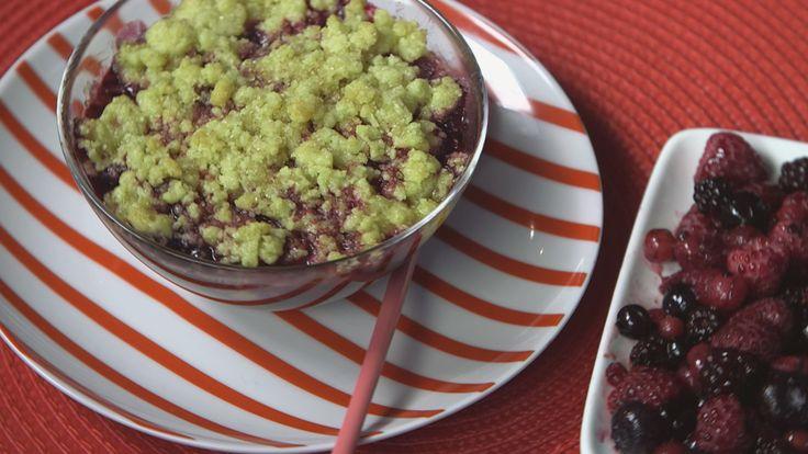 Recette de Crumble aux fruits rouges : la recette facile