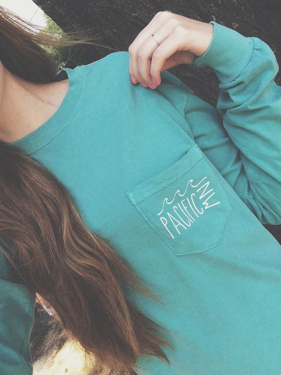 PNW Vintage long-sleeve Pocket Tee READ MESSAGE below by Reprose