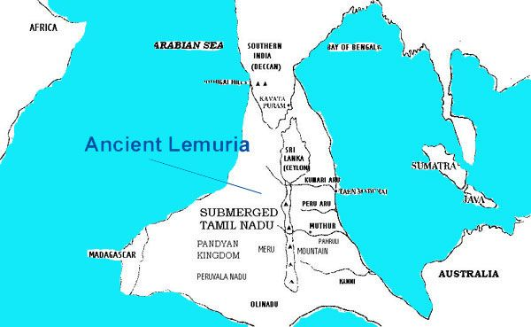 """Kumari Kandam (Lemuria) 