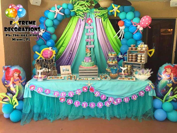 17 best ideas about tutu table on pinterest tutu table for Ariel decoration