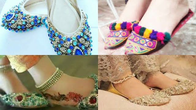 Fancy khussa design shoes collection