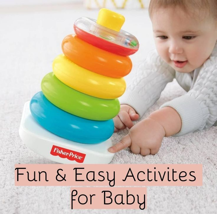 Babies Like To Experience New Toys Textures Sounds Experiences So Everyday Baby Toys Don T Always Keep Baby Enter Infant Activities Fisher Price Baby Toys