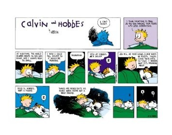 calvin and hobbes print bff: Best Friends, Bestfriends, Quote, Night Time, Calvin And Hobbes, Things, Comics