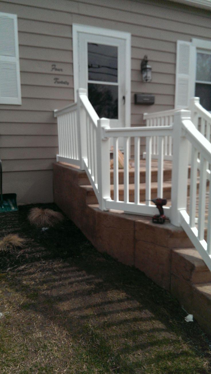 235 best vinyl railing images on pinterest vinyl railing vinyl railing maple shade baanklon Gallery