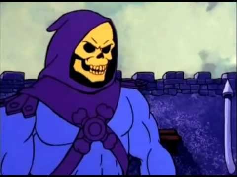Esqueleto humilha He-Man