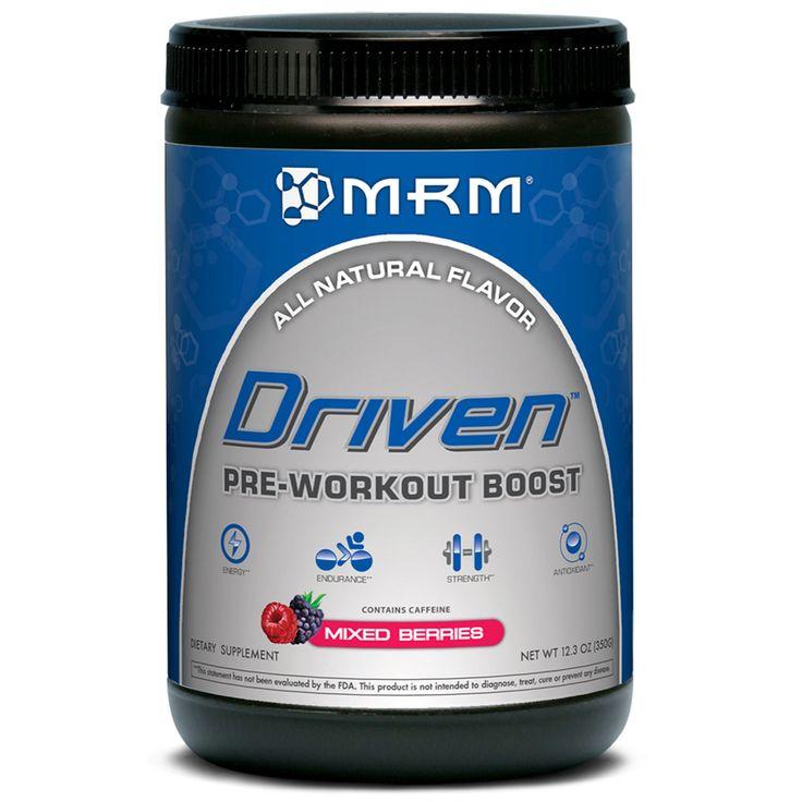 MRM, Driven, Pre-Workout Boost, Mixed Berries, 12.3 oz (350 g) - iHerb.com