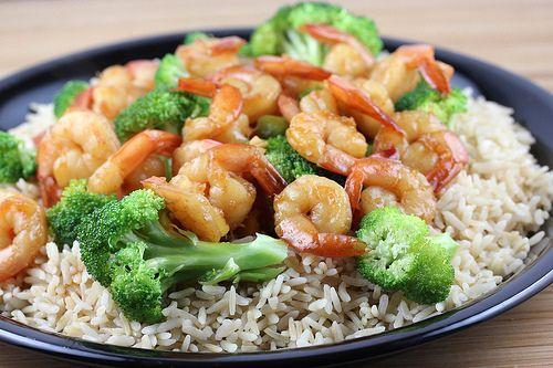 Chinese Shrimp with Broccoli.: Asian Recipes, Broccoli Food, Yummy Food, Chine Style, Broccoli Recipes, Shrimp With Broccoli, Favorite Recipes, Chine Shrimp, Shrimp And Broccoli