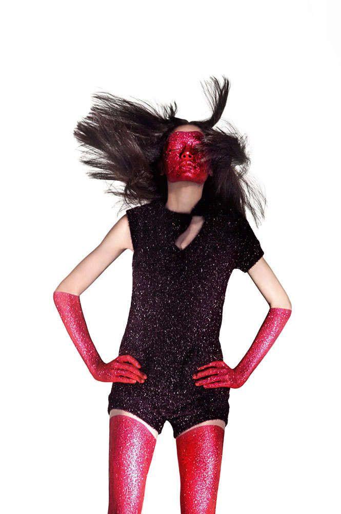 Glitter Face Masks : Rogerio Cavalcanti