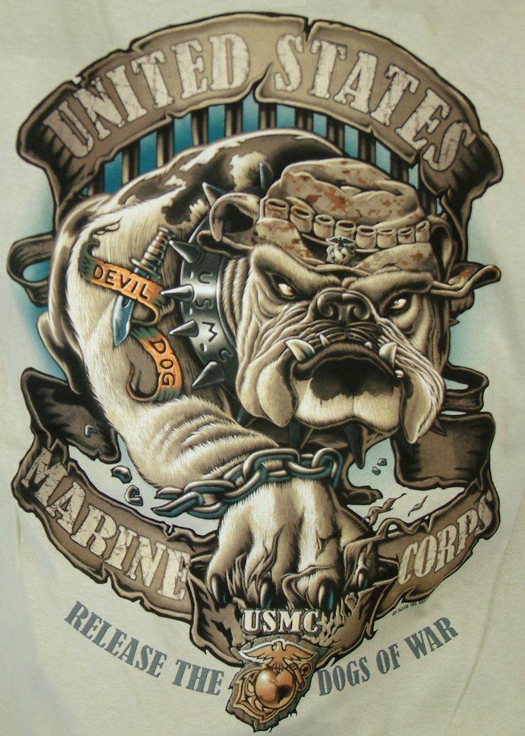 Gallery For Amp Gt Usmc Logo Bulldog Tattoo