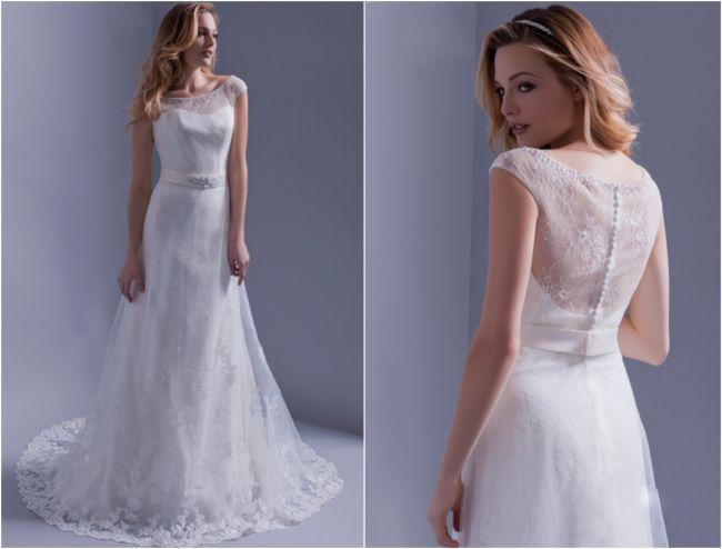 Robes de mariée Hervé Mariage 2016 : une collection sous le signe du glamour Image: 0