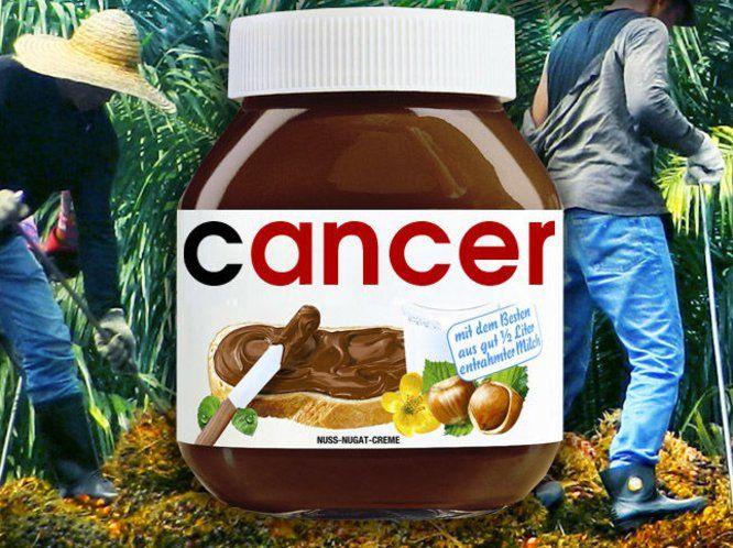 Nutella, la dolce cream di cioccolata e nocciola e ... olio di palma. Quest'ultimo prodotto però è stato segnalato dall'Autorità europea per la sicurezza a