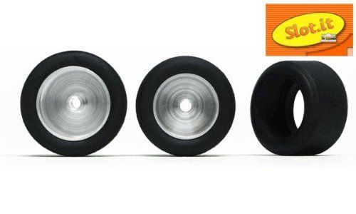 Slot.it 1:32 Slot Car 20 x 10 mm Arana Racing Tires F30 Compound Slick 4-Pack PT28 by Slot.it. $8.99. Good for use on any brand name 1:32 scale slot car tracks such as Ninco, Scalextric Sport, and Carrera. Wheels hubs pictured are for demonstration purposes only. High-grip tires for serious slot car racing performance. Used as a replacement or upgrade part for alterting Slot.it brand slot car performance. Fits Slot.it 17.3mm and 15.8mm wheel hubs. This slot car part is an afterm...