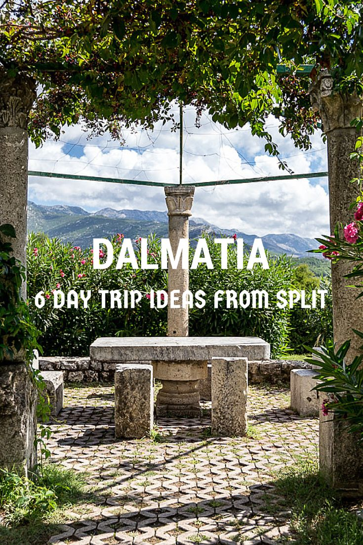 If you are travelling to #Croatia and planning to visit #Dalmatia, here are some tips based on our experience there! #LoveCroatia