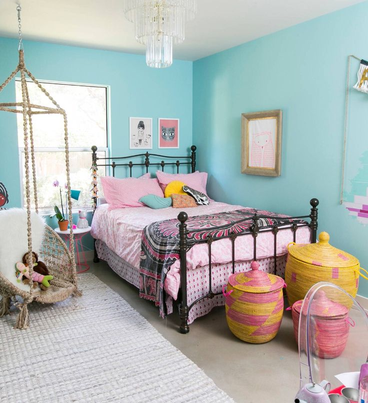 731 best Bedrooms • with Hanging Chairs images on Pinterest ...