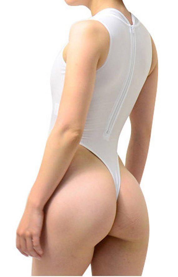 15ed4b8b6 LinvMe Women s Sexy Bodysuit Thong Leotard Sleeveless Lingerie ...