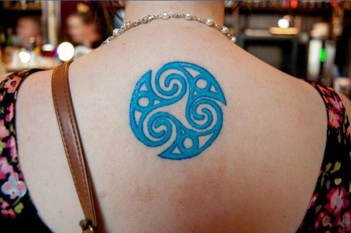 My triskele tattoo #celtic #tattoos