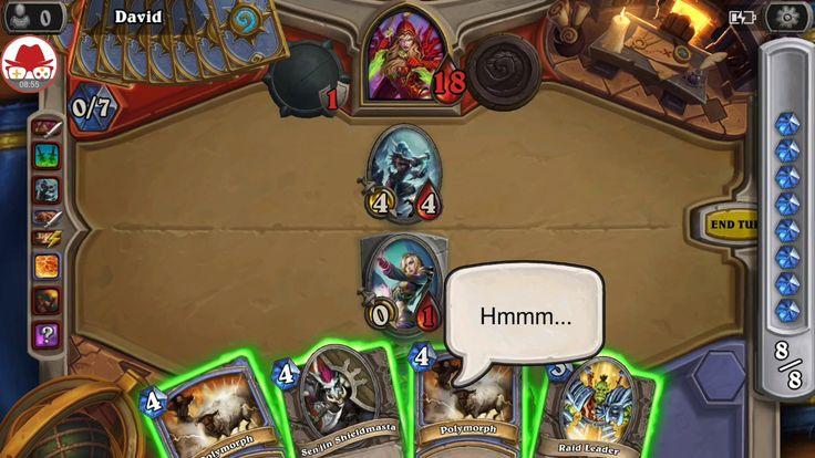 Mage vs Rogue - Shaman - Hearthstone Heroes of Warcraft
