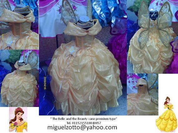 Belle vane premium   $100 usd sizes 1 to 6 accesories not included   Belle disney princess Bella girl costume dress outfit  gown cosplay vestido disfraz   I can do adult dresses ask for prices and availability at miguelzotto@yahoo.com