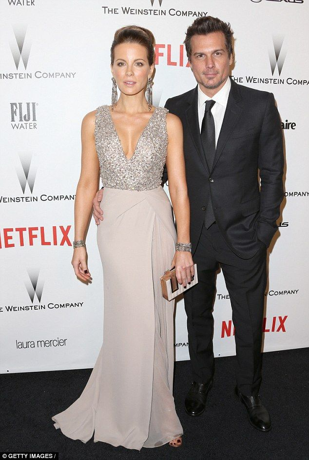 Happier times: Kate and Len Wiseman, pictured together last January, split last December with their divorce finalised this year
