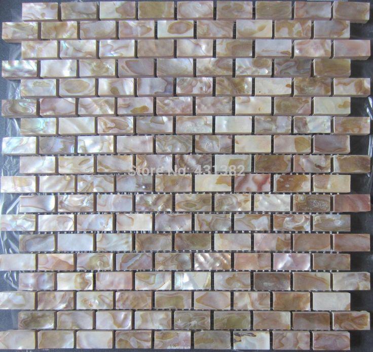 [Free Shipping] Buy Best Shell mosaic tile natural kitchen backsplash tiles