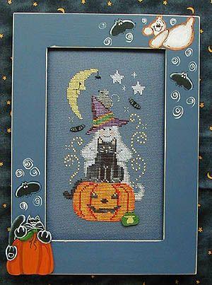 Halloween Short Stack - Cross Stitch Pattern  Waxing Moon