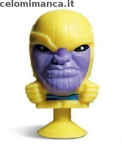 Megapopz Avengers: Fronte Figurina n. 11 Thanos