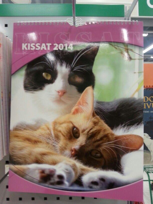 Kissaseinäkalenteri vuodelle 2014 useampikin erilainen saa olla. Poistuu täältä ja siirtyy saatuihin jos joltain saan :)