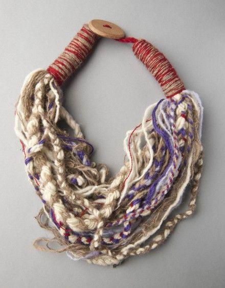 imagen_1 de Collar Bufanda Pequeño Lana de Oveja y Algodón