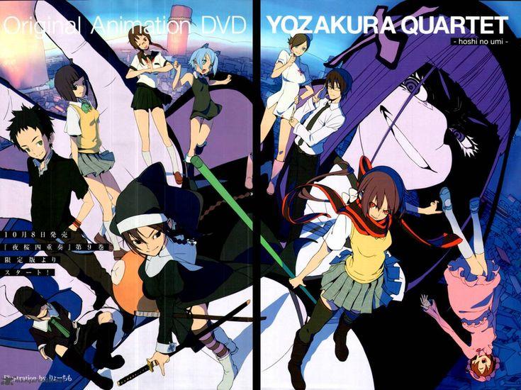 Yozakura Quartet Yozakura Quartet hoshi no umi 夜桜四重奏