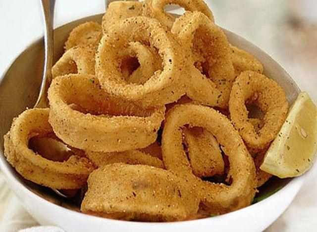 how to make calamari rings youtube