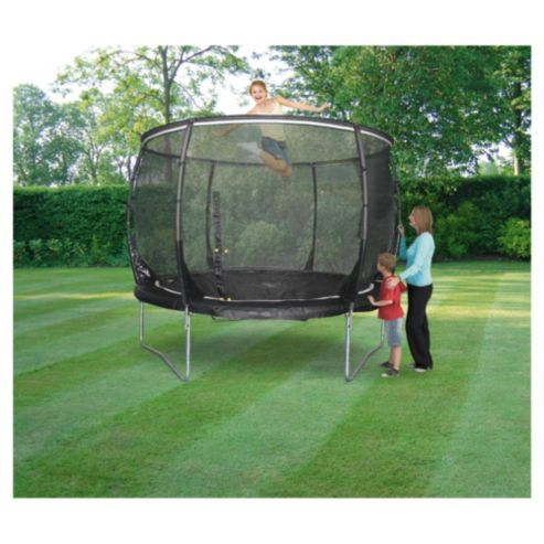 Plum Magnitude 8ft Trampoline & Enclosure £200 from Tesco.