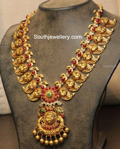 peacock_nakshi_mango_necklace