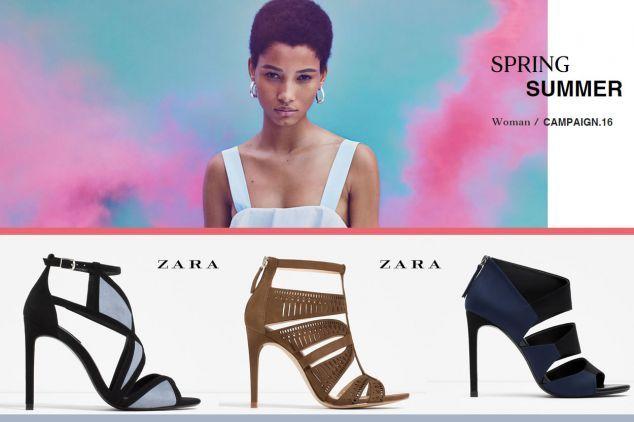 ZARA Spring Summer 2016 http://www.new-shoes.gr/designers-brands/zara-spring-summer-2016-campaign-kai-papoytsia-947