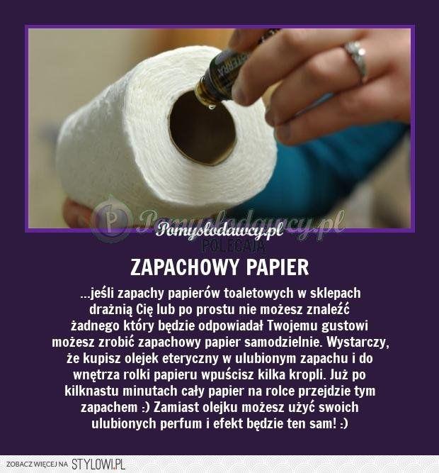 PAPIER TOALETOWY W TWOIM ULUBIONYM ZAPACHU na Stylowi.pl