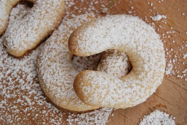 Almond Horn Cookies