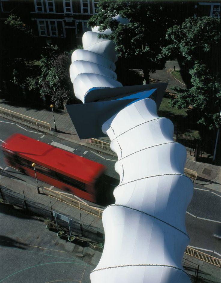 Plashet School Footbridge - A project by Birds Portchmouth Russum Architects